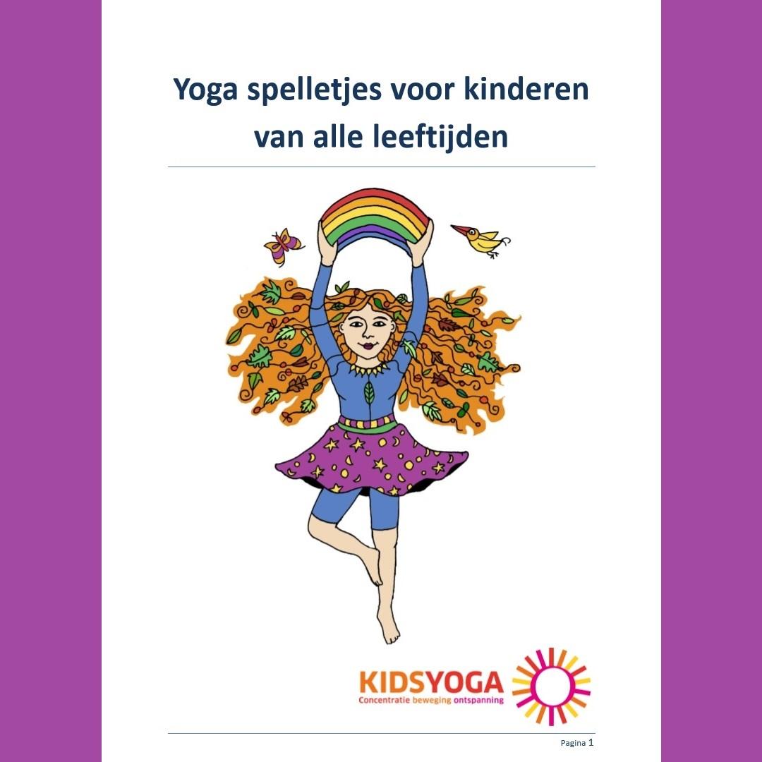Yogaspel voor kinderen van alle leeftijden