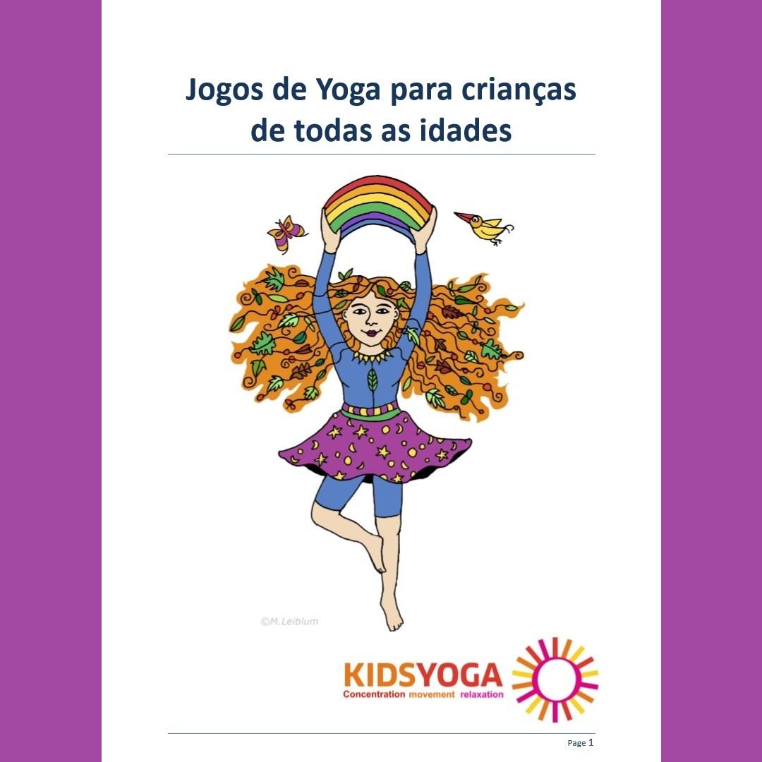 Jogos de Yoga para crianças de todas as idades